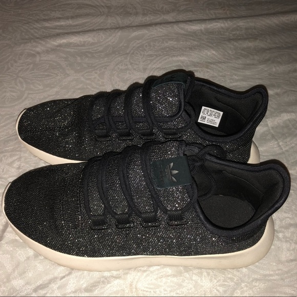 low priced 2b352 d1552 Adidas Women's Tubular Shadow Glitter Sneakers